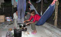 Camp auf dem Trek nach El Mirador, Guatemala © Manfred Sommer