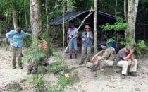 Camp auf dem Trek nach El Mirador, Guatemala © Uschi Sommer