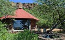 Chalet innen, Waterberg Plateau Lodge