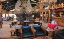 The Lodge at Creel, lobby