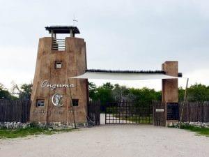 Etosha Aoba Lodge Eingang