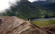 Krater im Rincón de la Vieja Nationalpark © El Sol Verde Lodge