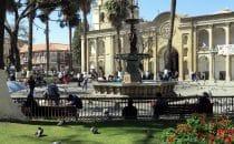 Plaza 14 de Septiembre, Cochabamba, Bolivien © Bertram Roth