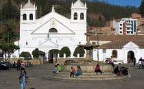 "Kirche des Klosters ""La Recoleta"" in Sucre © Bertram Roth"