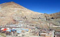 Cerro Rico in Potosí, Bolivien