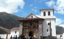 Kirche von Andahuaylilas, Peru © Edelmann