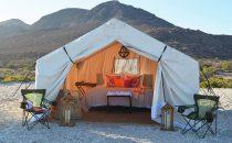 Camp Cecil, Isla Espiritu Santo, Baja California, Mexiko