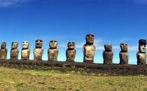 Moai – Easter Island © Sabine Hammer