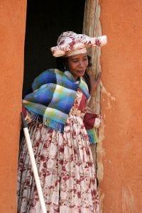 Herero Frau, Namibia