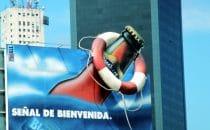 Werbung in Buenos Aires, Argentinien