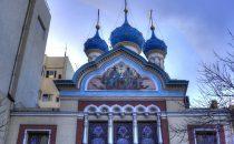 Buenos Aires, russisch orthodoxe Kirche in San Telmo, Argentinien