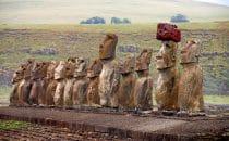 Moai, Osterinsel - Rapa Nui, Chile