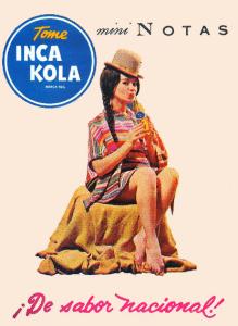 Inca Kola Werbung von 1960