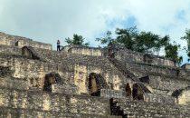 Caana Tempel in Caracol, Belize
