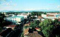 Blick über David, Panama