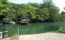 """Die """"neue"""" Fähre nach Xunantunich, Belize"""