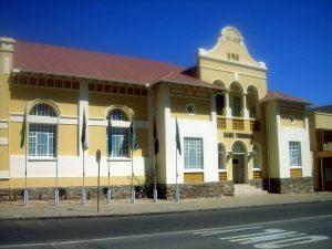 Die Turnhalle von Windoek, Namibia