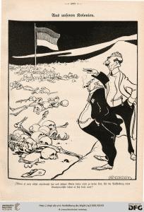 "Karikatur aus ""Der Wahre Jakob"""