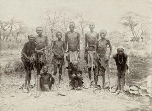 überlebende Herero 1907, Namibia