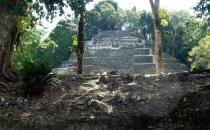 Tempel in Lamanai, Belize