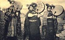 Mapuche Machis um 19oo, Chile
