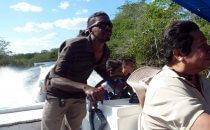 Bootstour auf dem New River nach Lamanai, Belize