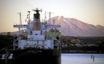 der Hafen von Puerto Montt, Chile