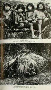 Yagán Frauen 1882/83, Feuerland, Chile