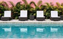 Pool, Hostal Doña Manuela, Mompox, Kolumbien