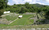 Ballspielplatz Chinkultic, Chiapas, Mexiko