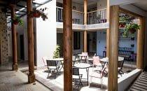 Casa del Café Patio, Comitán, Mexiko