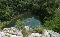Cenote Azul, Chinkultic, Chiapas, Mexiko