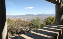 Monte Albán Blick ins Tal, Mexiko