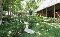 Escudo Jaguar Garten, Frontera Corozal, Mexiko