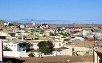 Blick über Lüderitz, Namibia
