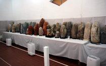 Mimienraum im Museum Leymebamba, Peru