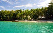 Isla Paridita Strand, Golf von Chiriquí, Panama