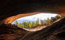 Cueva de Milodón bei Puerto Natales, Patagonia, Chile