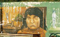 Mural in Puerto Natales, Patagonia, Chile