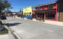 stret in Puerto Natales