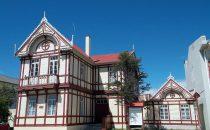 Rathaus von Puerto Natales, Patagonien, Chile