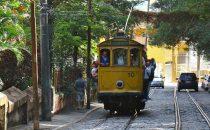 Tram in Rio de Janeiro, Brasilien