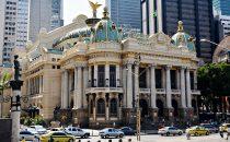 Teatro Municipal in Rio de Janeiro, Brasilien