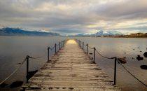 Bucht von Puerto Natales, Patagonien, Chile