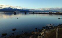 Hafen von Puerto Natales, Patagonien, Chile