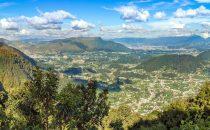 Blick auf Quetzaltenango, Guatemala