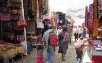 Chichicastenango Markt, Guatemala