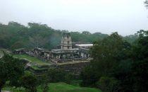 Palace at Palenque, Chiapas, Mexico