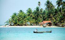 eine der San Blas Inseln, Panama