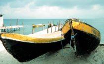 Fischerboote, San Blas Inseln, Panama
